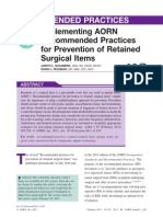 AORN Retained Items
