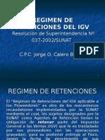 Retenciones Del IGV Resúmen