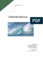Hidrodinámica.