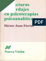 FIORINI - Estructuras y Abordajes en Psicoterapia Psicoanalitica