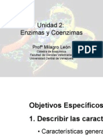 Bioquímica Enzimas y Coenzimas
