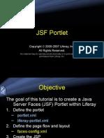 Jsf Portlet LIFERAY