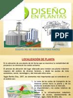 Localizacion Tamaño de planta