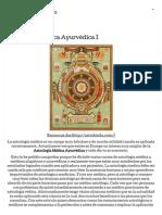 Astrología Médica Ayurvédica I « Espaço Astrológico