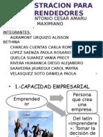 Administracion Para Emprendedores