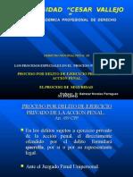 2014- CLjASE 7 -UCV Proceso Querella y de Seguridad.