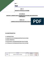 Week 3. Landing Gear Extensionretraction System