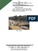 Memoria Descriptiva Del Puerto de Barranquita