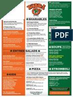 bubba omallys menu