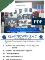 Exposición Fabricaciones KlimaTechnik.pps