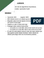 MINIMAX y Poda Alfabeta