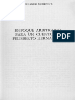 Moreno, Fernando - Enfoque Arbitrario Para Un Cuento de Felisberto