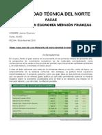 Anaisis Economicos Ecuador