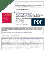 Buddhism Power Modernity