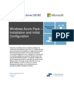 HOL - Windows Azure Pack (Installation and Initial Configuration)