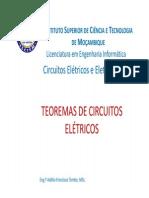 Teoremas de Circuitos Electricos