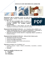Etapele Diagnosticului Clinic Biochimic de Laborator