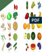 Vocab Fruit Veg