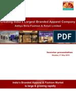 PFRL Investor Presentation