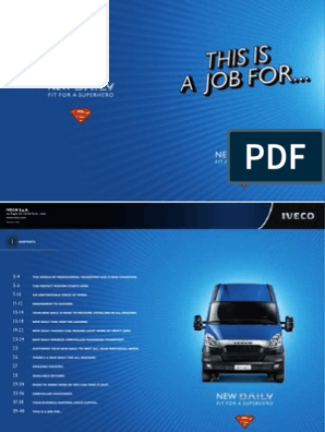 IvecoDaily Brochure | Manual Transmission | Transmission