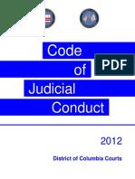 2012 Code of Judicial Conduct