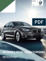 Prijslijst BMW 5 Serie Gran Turismo 07 2014