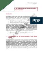 Tema 1 - Métodos de Investigación