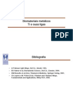 2 Biomateriais Ligas de Titanio