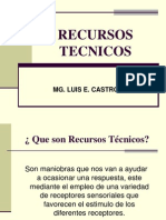 RECURSOS TECNICOS-  TERAPIA FISICA