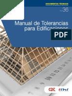 Manual de tolerancias 2013