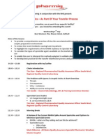 NHS Sporicidal Meeting 1st July 2015