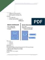 microprocessor and microcontroller module 5