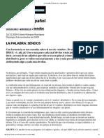 La Palabra_ Sendos _ Fundéu Bbva