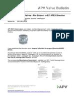 Apv Valves and Atex