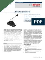 Bosh PRS‑CSR Call Station Remote