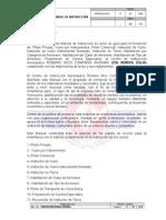 1.1 Introduccion Del Manual de Instruccion