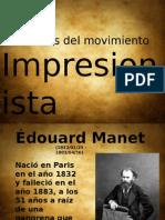 Pintores Del Movimiento IMPRESIONISTAS