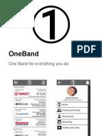 oneband presentation