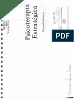 Psicoterapia Estrategica (Procedimientos) Víctor Fernández