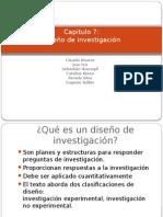Cap 7 Diseño de Investigación