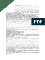 Organización Del Espacio Físico y Uso Del Suelo