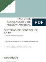 Regulacion de La Presion Arterial