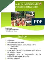 Geografía de La Población de Las Comunidades Nativas