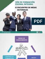 Redes - Mesas Sectoriales - Centros