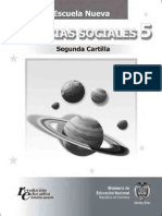 Cartilla Ciencias Sociales 5º