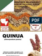 Alimentos Versatiles Saludables y Con Alto Valor Nutricional a Base de Cereales Listas