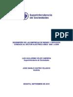 1-Desempeño Sector Electrico 2006-2009