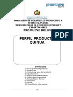 Perfil Producto Quinua