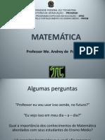 Caderno Matemática - Andrey
