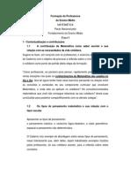 Caderno v - Matemática - Formação de Professores